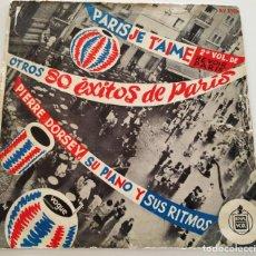 "Discos de vinilo: PIERRE DORSEY 'PARIS JE T'AIME OTROS EXITOS DE PARIS' LP 12"" VINILO VINYL. Lote 236947720"