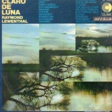 Discos de vinilo: CLARO DE LUNA - RAYMOND LEWNTHAL / LP CLAVE DE 1969 / BUEN ESTADO RF-9037. Lote 236949985