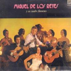 Discos de vinilo: MANUEL DE LOS REYES Y SU CUADRO FLAMENCO - VIVA EL ROCIO, LA CANTINA../ LP CAUDAL 1976 RF-9036. Lote 236950390