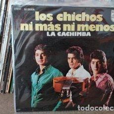Discos de vinilo: LOS CHICHOS - NI MAS NI MENOS - LA CACHIMBA - 1973 - SPAIN - PHILIPS. Lote 236955230