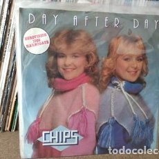 Disques de vinyle: CHIPS – DAY AFTER DAY EUROVISION 1982 SUECIA. Lote 236956765