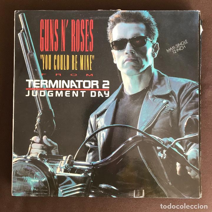 GUNS N' ROSES - YOU COULD BE MINE - 12'' MAXISINGLE GEFFEN SPAIN 1991 (Música - Discos de Vinilo - Maxi Singles - Heavy - Metal)