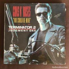 Discos de vinilo: GUNS N' ROSES - YOU COULD BE MINE - 12'' MAXISINGLE GEFFEN SPAIN 1991. Lote 236958975
