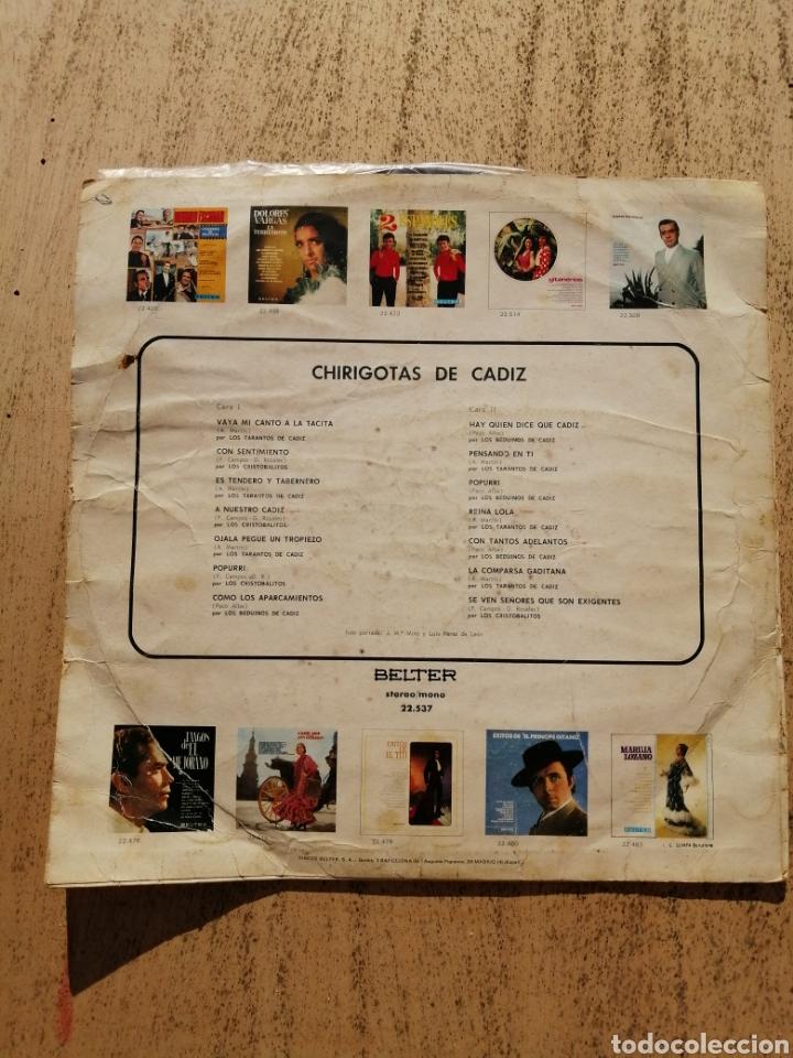 Discos de vinilo: Chirigotas de Cádiz - Foto 2 - 236968655