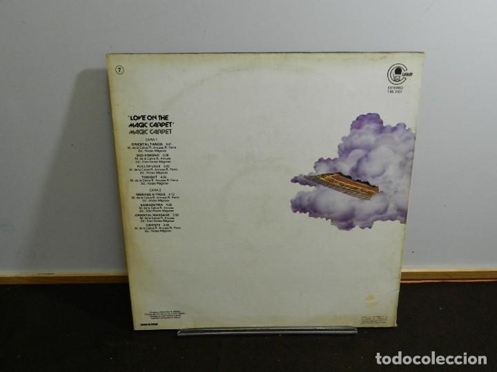 Discos de vinilo: DISCO VINILO LP. Magic Carpet – Love On The Magic Carpet. 33 RPM. - Foto 2 - 236974645