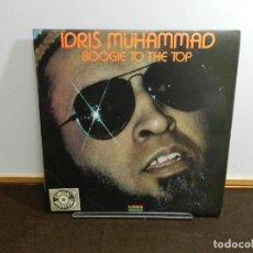 Discos de vinilo: DISCO VINILO LP. IDRIS MUHAMMAD – BOOGIE TO THE TOP. 33 RPM.. Lote 236975965