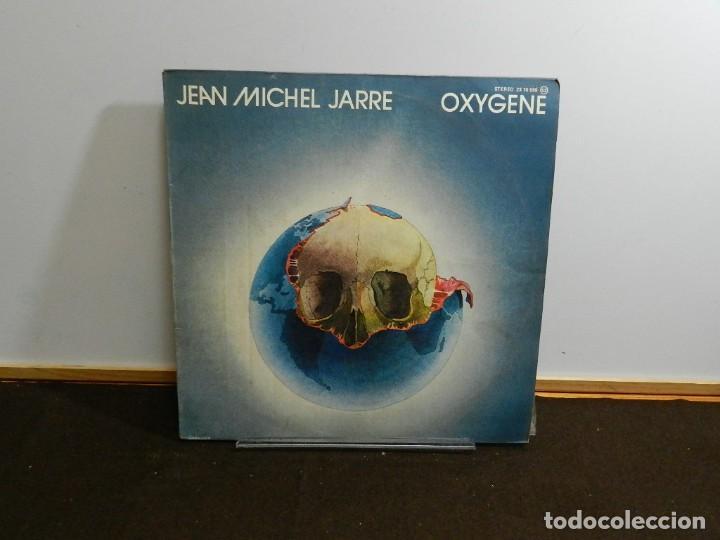 DISCO VINILO LP. JEAN-MICHEL JARRE – OXYGÈNE. 33 RPM. (Música - Discos - LP Vinilo - Electrónica, Avantgarde y Experimental)