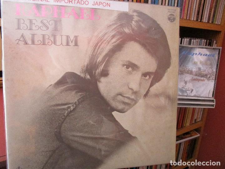 RAPHAEL BEST ALBUM ( JAPON ) (Música - Discos - LP Vinilo - Solistas Españoles de los 50 y 60)