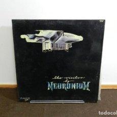 Discos de vinilo: DISCO VINILO LP. NEURONIUM – THE VISITOR. 33 RPM.. Lote 236977610