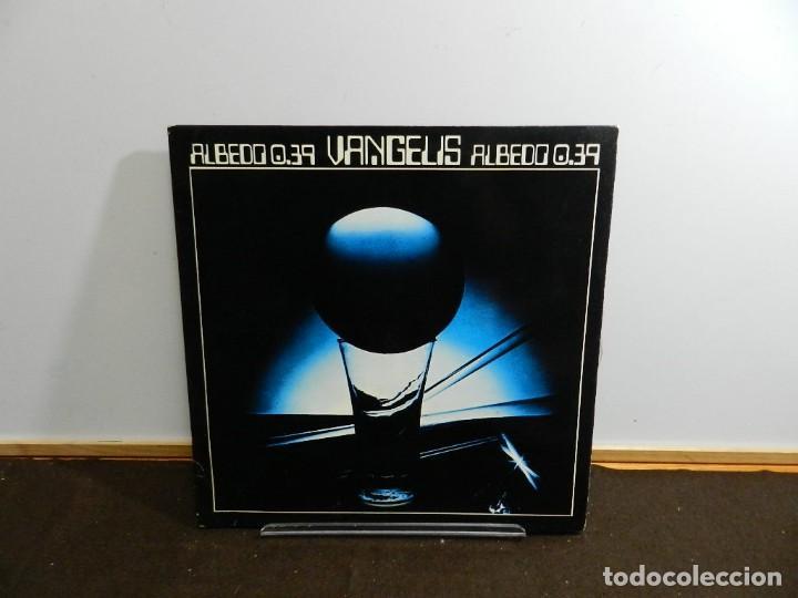 DISCO VINILO LP. VANGELIS – ALBEDO 0.39. 33 RPM. (Música - Discos - LP Vinilo - Electrónica, Avantgarde y Experimental)