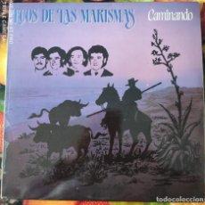 Discos de vinilo: LIQUIDACION DE DISCOS DE VINILO EN BUEN ESTADO ---ECOS DE LAS MARISMAS_CAMINANDO (PRINCIPIO AÑOS 80). Lote 236989065