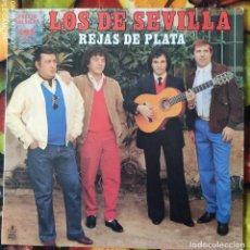 Discos de vinilo: LIQUIDACION DE DISCOS DE VINILO EN BUEN ESTADO --- LOS DE SEVILLA_REJAS DE PLATA (PRINCIPIO AÑOS 80). Lote 236990425