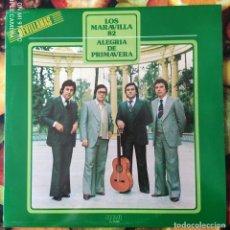 Discos de vinilo: LIQUIDACION DE DISCOS DE VINILO EN BUEN ESTADO --- LOS MARAVILLAS_ALEGRIA DE PRIMAVERA (AÑOS 80). Lote 236991050