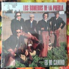 Discos de vinilo: LIQUIDACION DE DISCOS DE VINILO EN BUEN ESTADO --- LOS ROMEROS DE LA PUEBLA_ES MI CAMINO (PAÑOS 80). Lote 236991240