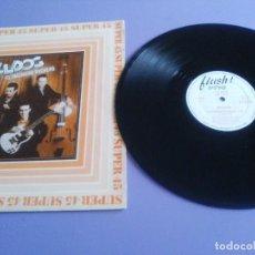 Discos de vinilo: 45 SUPER. BULLDOG.TONY LUZ EX LOS PEKENIKES NEO ROCK A BILLY.EL INGENIERO ROCKERO - 1983.HISPAVOX. Lote 236997300