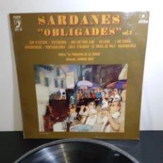 Discos de vinilo: SARDANES OBLIGADES 35. COBLA PRINCIPAL DE LA BISBAL.. Lote 236998460
