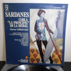 Discos de vinil: SARDANES. COBLA PRINCIPAL DE LA BISBAL.. Lote 236998790