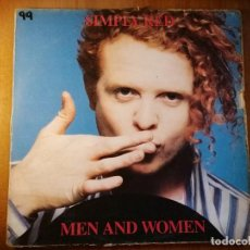Discos de vinilo: LOTE 2 DISCOS SIMPLY RED – PICTURE BOOK Y MEN AND WOMEN. Lote 237002580
