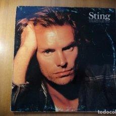 Discos de vinilo: LOTE 2 DISCOS STING, NADA COMO EL SOL Y BRING ON THE NIGHT (2 DISCOS). Lote 237002945