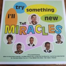 Discos de vinilo: THE MIRACLES - I'LL TRY SOMETHING NEW *********** REEDICIÓN 2015 IMPECABLE!. Lote 237003795