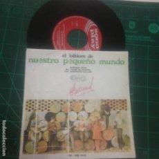 Discos de vinilo: EL FOLKLORE DE NUESTRO PEQUEÑO MUNDO - SINNER MAN - ME CASÓ MI MADRE - THE DRUNKEN SAILOR. Lote 237008910