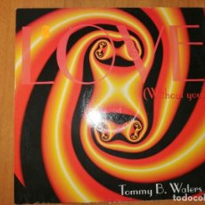 Discos de vinilo: LOTE 2 DISCO ITALO DANCE. ITALIAN STYLE- HOUSE EVOLUTION Y TOMMY B. WATERS-LOVE (WITHOUT YOU). Lote 237013020
