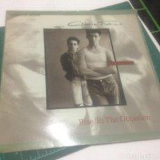 Discos de vinilo: CLIMIE FISHER: RISE TO THE OCCASION / MENTAL BLOCK. HIP HOP / POP BRITÁNICO 1987 - MAXI. Lote 237015835