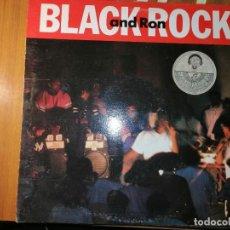 Discos de vinilo: LOTE 2 DISCO RAP/HIP HOP. BLACK ROCK AND RON Y JERMAINE STEWART-EVERY WOMAN WANTS TO. Lote 237016080