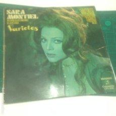 Discos de vinilo: SARA MONTIEL - VARIETES - 1971. Lote 237017960