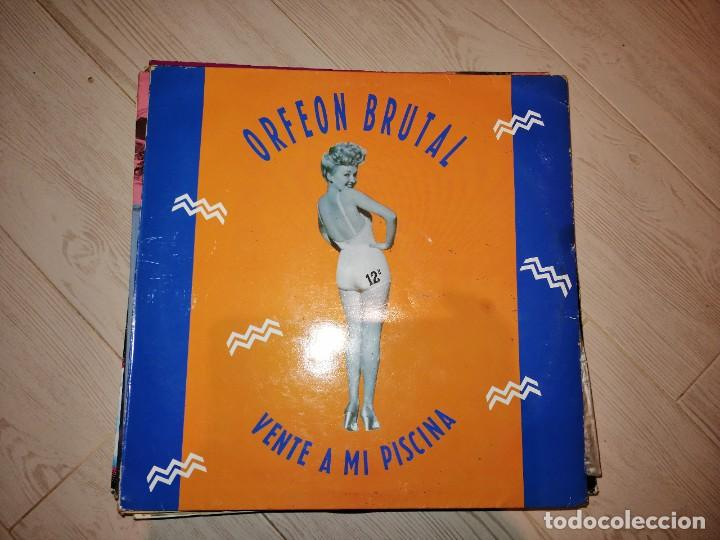 Discos de vinilo: Lote 2 discos grupo español.LO MEJOR DE LOS SESENTA 60-2 LP 1990 y ORFEON BRUTAL,VENTA A MI PISCINA - Foto 3 - 237018755