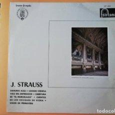 Disques de vinyle: DANUBIO AZUL. SANGRE VIENESA. VALS DEL EMPERADOR. OBERTURA DE EL MURCIÉLAGO. CUENTOS DE LOS BOSQUES. Lote 237026415