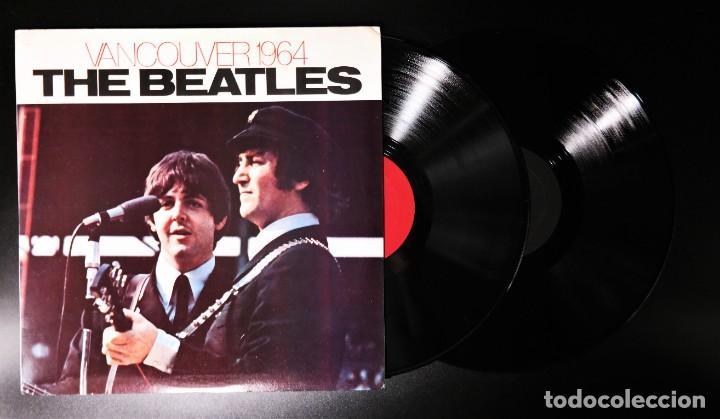 Discos de vinilo: Beatles - Vancouver 1964 / Mega Rare FAB-Four Record - Foto 2 - 237037930