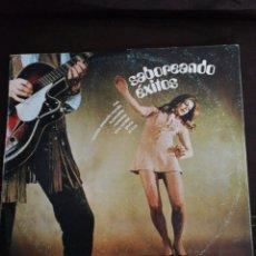 Discos de vinilo: LP SABOREANDO ÉXITOS, 1971,PORTADA RETRO, SPICODELIC, UNIVERSAL, ORLADOR.(LA OCA, TONY RONALD...). Lote 237038815