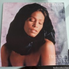 Discos de vinilo: WHITNEY HOUSTON - I WILL ALWAYS LOVE YOU (ARISTA, UK, 1992). Lote 237038915