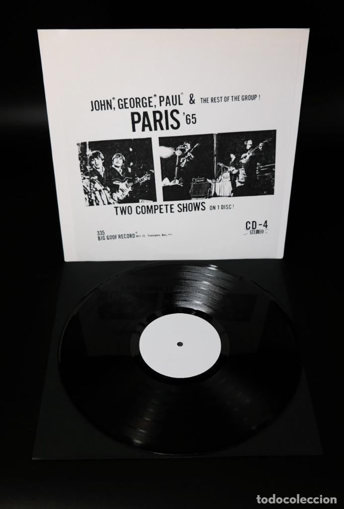 BEATLES - PARIS '65 /RARE WHITE LABEL PROMO -VERSION (Música - Discos - LP Vinilo - Pop - Rock Internacional de los 50 y 60)