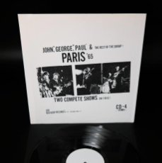 Discos de vinilo: BEATLES - PARIS '65 /RARE WHITE LABEL PROMO -VERSION. Lote 237057965