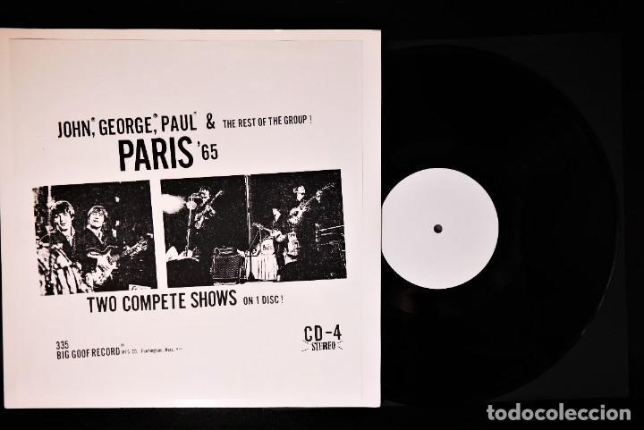 Discos de vinilo: Beatles - Paris 65 /Rare White Label Promo -Version - Foto 2 - 237057965