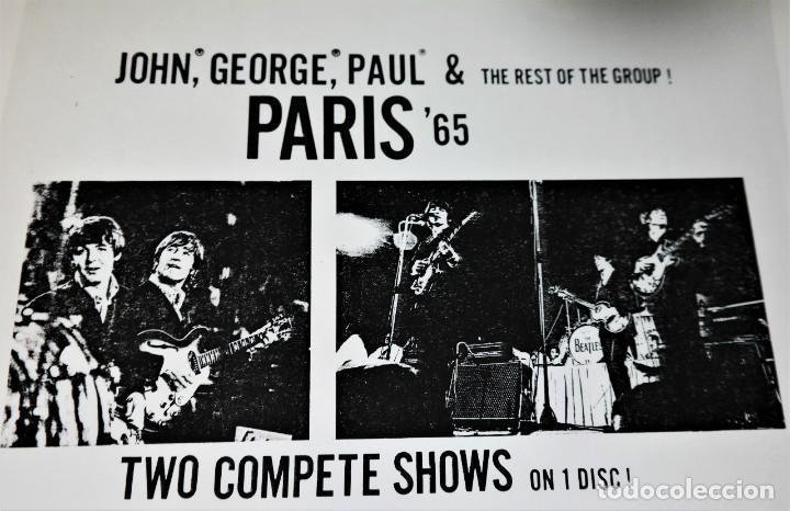 Discos de vinilo: Beatles - Paris 65 /Rare White Label Promo -Version - Foto 8 - 237057965