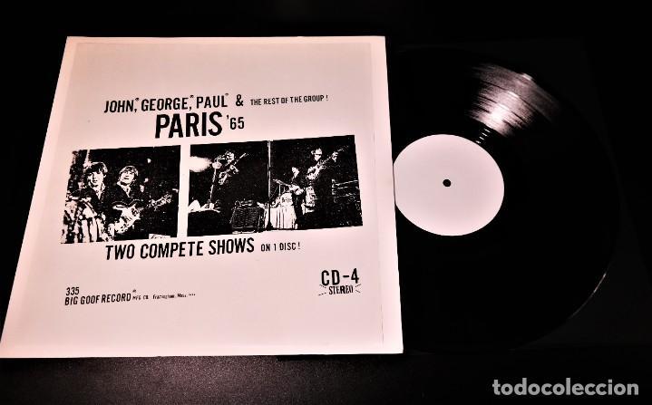 Discos de vinilo: Beatles - Paris 65 /Rare White Label Promo -Version - Foto 9 - 237057965
