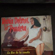 Discos de vinilo: MARIA DOLORES PRADERA VINILO EPS, 1968,LA FLOR DE LA CANELA,ENGAÑADA ETC.. ZAFIRO.. Lote 237059625
