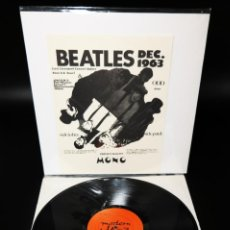 Discos de vinilo: BEATLES - DEC.1963 - LAST LIVERPOOL CONCERT BEFORE FIRST U.S. TOUR! HARD TO FIND !. Lote 237059860