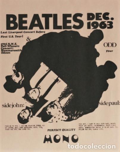Discos de vinilo: Beatles - Dec.1963 - Last Liverpool Concert Before First U.S. Tour! Hard To Find ! - Foto 6 - 237059860