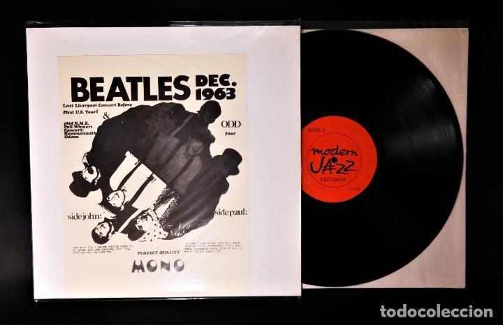 Discos de vinilo: Beatles - Dec.1963 - Last Liverpool Concert Before First U.S. Tour! Hard To Find ! - Foto 8 - 237059860