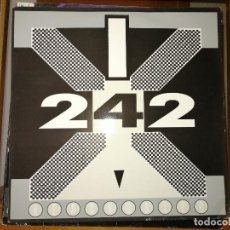 Discos de vinilo: LOTE 2 DISCOS ELECTRONIC. FRONT 242-HEADHUNTER,1988 Y AND ONE-TURN THE NATION,1992. Lote 237059890