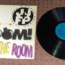 Discos de vinilo: DJ JAZZY JEFF & THE FRESH PRINCE - BOOM SHAKE THE ROOM -. Lote 237061720