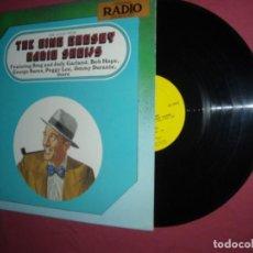 Discos de vinilo: THE BING CROSBY RADIO SHOWS LP UISA,,GARLAND,,HOPE,,PEGGY LEE ECT. Lote 237069310