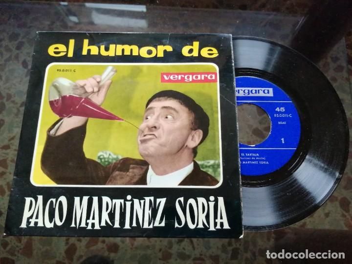 EL HUMOR DE PACO MARTÍNEZ SORIA (Música - Discos de Vinilo - EPs - Bandas Sonoras y Actores)