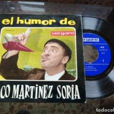 Discos de vinilo: EL HUMOR DE PACO MARTÍNEZ SORIA. Lote 237076270
