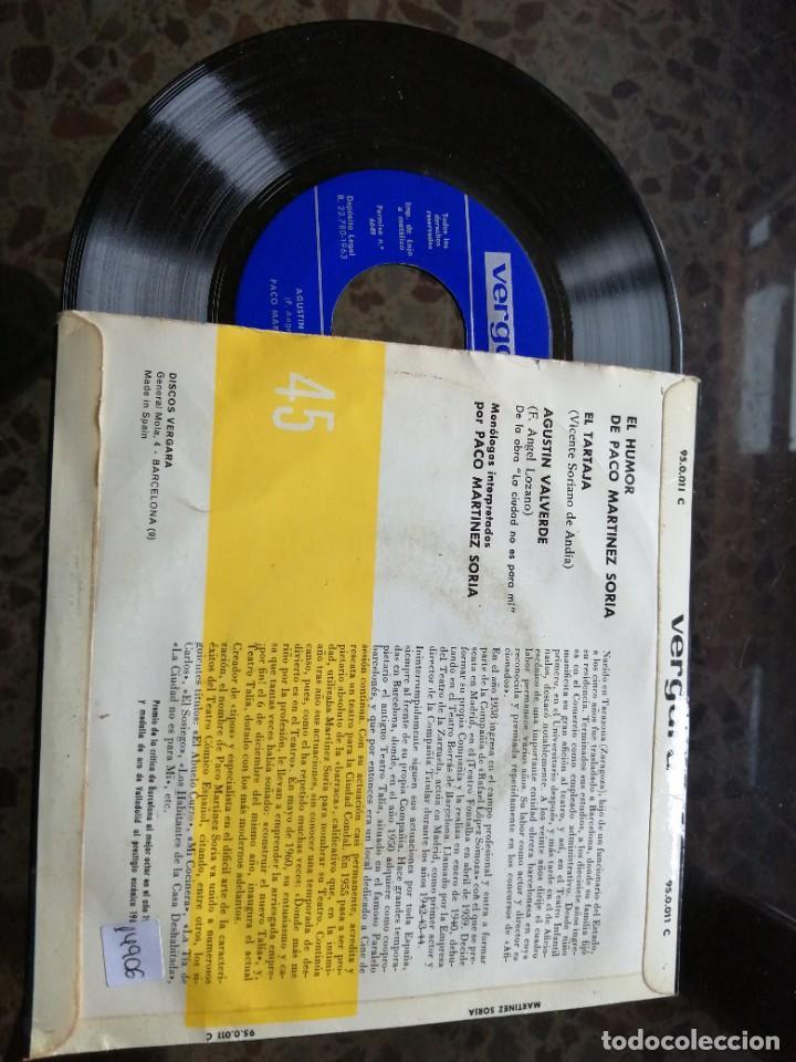 Discos de vinilo: EL HUMOR DE PACO MARTÍNEZ SORIA - Foto 2 - 237076270