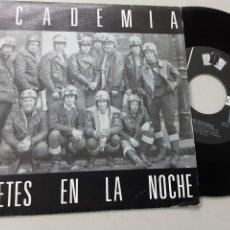 Discos de vinilo: ACADEMIA, JINETES EN LA NOCHE + CON LA MISMA ILUSIÓN. Lote 237076755